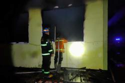 Labor Terbakar, Kerugian Capai Rp800 Juta