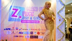 Jumat, Z Face Talent Audition di Living World