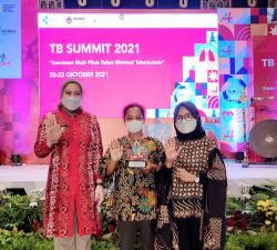 Inhu Raih Peringkat 3 Nasional Kegiatan TB Summit 2021 di Bali