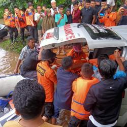 Innalillahi, Dua Pemudik Riau ke Sumbar yang Tenggelam Ditemukan Tewas