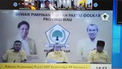 Golkar Riau Minta Segera Terbitkan SK Paslon di 3 Daerah