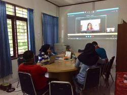 200-an Guru Ramaikan Virtual Edukasi Pencegahan Karhutla