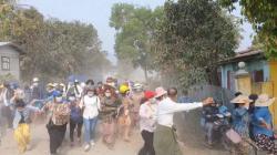 Militer Myanmar Ancam Bumi Hanguskan Yangon