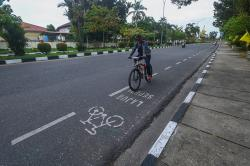 Jalur Sepeda Dinilai Mampu Jadi Pengurai Kemacetan