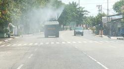 Kota Bangkinang Didisinfektan