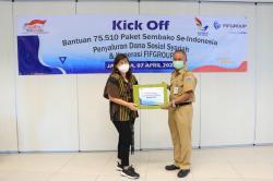 FIFGROUP Salurkan 75.000 Paket Sembako di 620 Titik Se-Indonesia