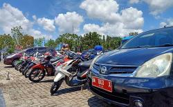 984 Kendaraan Dinas Ditarik