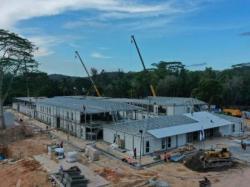 Pembangunan Fasilitas Karantina di Pulau Galang Capai 92 Persen