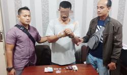 Polsek Bangko, Rohil, Amankan Tersangka Narkoba