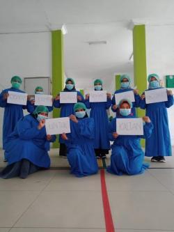 Ruang Isolasi Pasien C19 RSUD Penuh, Poli Penyakit Dalam dan Lab Tutup