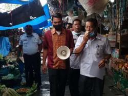 DPP Sosialisasi Prokes di Pasar Tradisional