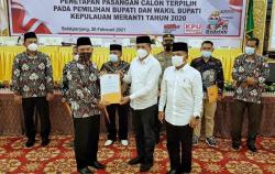 KPU Tetapkan Adil-Asmar Pemenang Pilkada Meranti