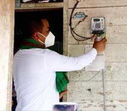 Desa Kuala Panduk Mulai Nikmati Listrik 24 Jam
