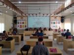 KPU Rohil Laksanakan Pemutakhiran Data Pemilih Sesuai Protokol Covid-19