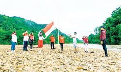 IMA Pekanbaru Upacara di Rimbang Baling