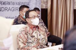 Bupati Ikuti Penyerahan TPID Award Secara Virtual