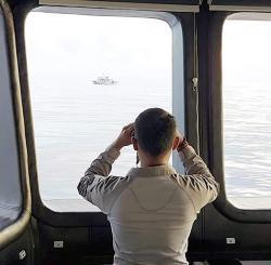 Kapal Asing Bebas Beroperasi,Bakamla Klaim Laut Natuna Utara Aman