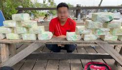 Gagalkan Penyeludupan 20 Kg Sabu dari Malaysia