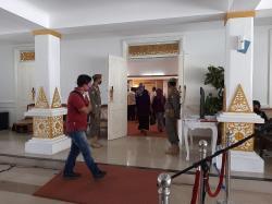 Evaluasi PSBB Kota Pekanbaru, Gubri dan Wako Rapat Tertutup