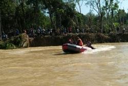 Bujang Itam, Warga Batang Peranap Tenggelam di Sungai Batang Kuantan