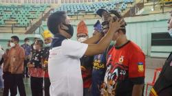 Jelang PON XX, Atlet Anggar Papua Ujicoba ke Bengkalis