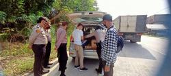 Ada Penyekatan Pemudik di Perbatasan Siak-Pelalawan, Kendaraan Disetop