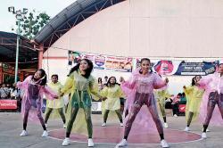 Bertema Hujan, Dancer SMAN 1 Dumai Optimis Rebut Juara
