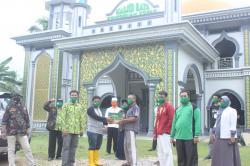 Ormas Islam di Kuansing Salurkan Bantuan