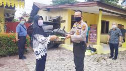 Pengusaha dan Kepolisian Salurkan Bantuan