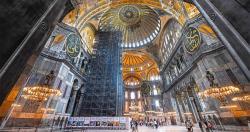 Ribuan Warga Turki Padati Hagia Sophia untuk Salat Jumat