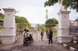 Penerapan Prokes Salat Id di Masjid Dipantau