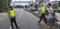 Tabrakan Maut di U-Turn Kantor Camat Bukitraya, Satu Pengendara Tewas