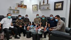 Langsung Tancap Gas, Elvi Syofriadi Terima Kunjungan Polda Riau