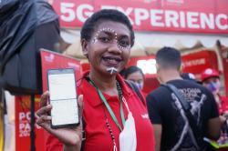 5G Telkomsel Hadir di PON Papua