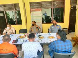 Kapolres Ajak Jurnalis di Kampar Tangkal Hoaks