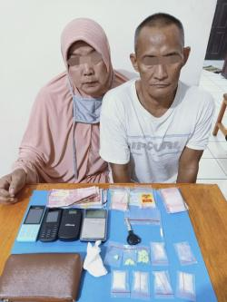 ASN Pemkab Inhu Ikut Suami Edarkan Narkotika