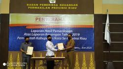 BPK RI Perwakilan Riau Ganjar Rohil Opini WTP