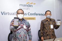 Mandiri Syariah Launching Fitur E-mas di MSM