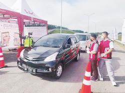 Dua Pekan Dibuka, 45 Kendaraan Dipaksa Putar Balik