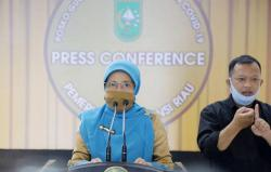 Kasus Harian Covid-19 di Riau Hampir 1.000