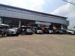 Dipo Internasional Pahala Otomotif Lakukan First Delivery New Pajero Sport