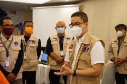Relawan Satgas Covid-19 Pastikan Tidak Ada Aksi Pengembalian Atribut