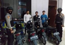 Amankan Enam Sepeda Motor dari Pembalap Liar
