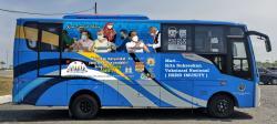 Bus TMP Disulap Jadi Mobil Vaksin Keliling, Ini Titik Operasionalnya