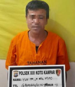 Pencuri Besi Pembangunan Sarang Walet Ditangkap