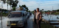 Banjir di Pelalawan Mulai Surut