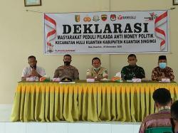 Masyarakat Empat Kecamatan Deklarasi Peduli Pilkada Anti Politik Uang
