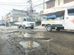 Jalan Ibu Kota Rusak, Ganggu Kenyamanan Pengendara