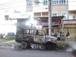 Mobil Terbakar saat Parkir, Pemilik Sedang Petik Sayuran