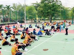 Edukasi Atlet PON Riau Cara Gunakan QRIS BRK